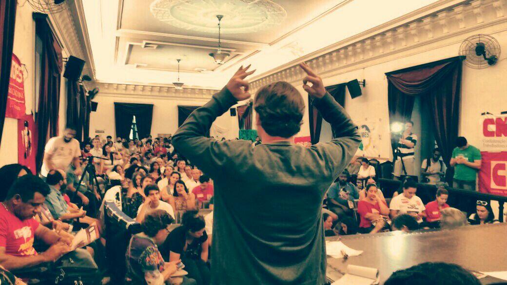 Evento aconteceu  no Rio de Janeiro, e reuniu manifestantes em defesa da educação e da democracia na política e nas escolas.