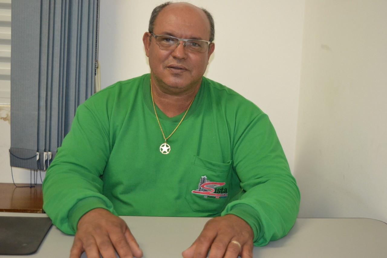 Geraldo Rodrigues, que representa a coordenação do SISTA/MS na comissão das 30h